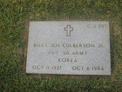 Billy Joe Culberson, Jr
