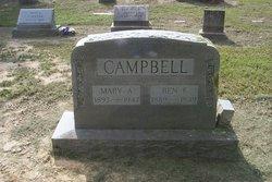 Mary Alice <I>Chapman</I> Campbell