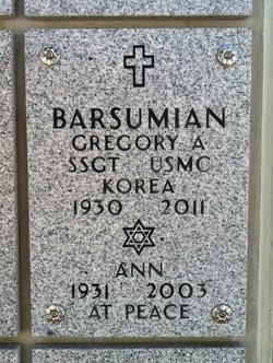 Gregory Anthony Barsumian