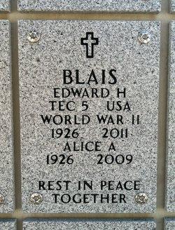 Edward H Blais