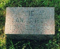 Effie A <I>King</I> Clute