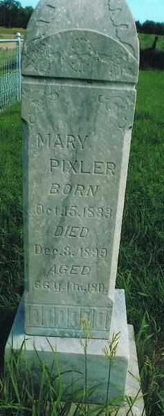 Mary <I>Kennedy</I> Pixler