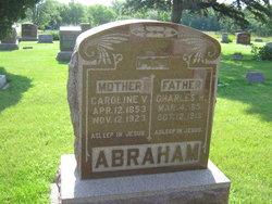 Caroline V. <I>Turney</I> Abraham