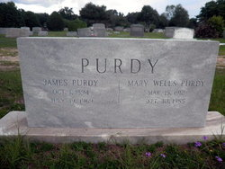 Mary Melvina <I>Wells</I> Purdy