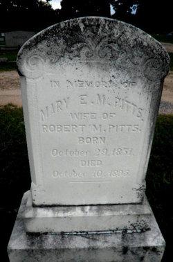 Mary Esther <I>Bradford</I> Pitts