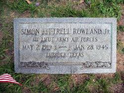 Simon Kittrell Rowland, Jr
