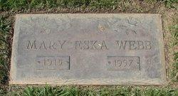 Mary Eska <I>Martin</I> Webb