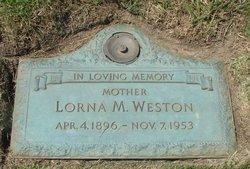 Lorna Mae <I>McKibbon</I> Weston