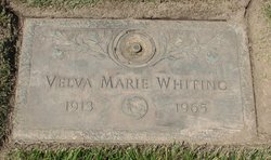 Velva Marie Whiting