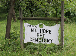 Mount Hope Pet Cemetery