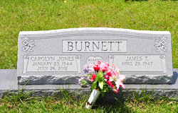 Carolyn <I>Jones</I> Burnett