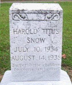 Harold Titus Snow