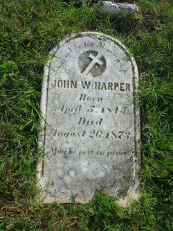John W Harper