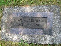 France <I>Vaughn</I> Benson