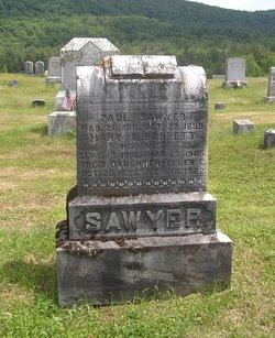 Mary A. <I>Barrett</I> Sawyer