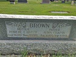 Phoebe Elizabeth <I>Hatch</I> Brown