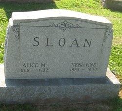 Alice M <I>Livingston</I> Sloan