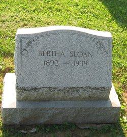Bertha Sloan