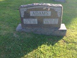 Malvina Lee <I>Spencer</I> Adams