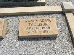 Nancy Jane <I>Adair</I> Tollison