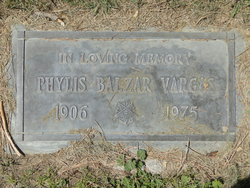 Phylis Rae <I>Balzar</I> Vargas