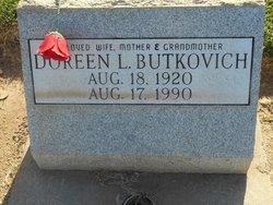Doreen Lana <I>Robinson</I> Butkovich
