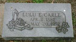 Lulu Ellen <I>Anderson</I> Carle