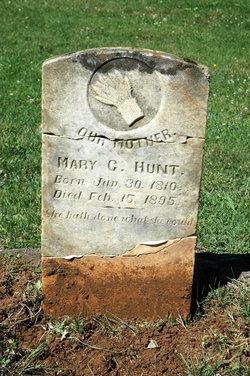 Mary Catherine <I>DeVault</I> Hunt