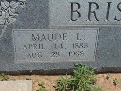 Maude Lee <I>Thomas</I> Brister