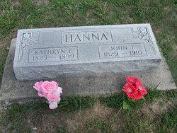 Catherine E <I>Morris</I> Hanna