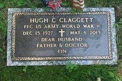 Dr Hugh C Claggett