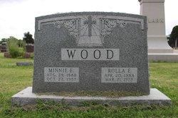 """Rolla Franklin """"Roy"""" Wood"""
