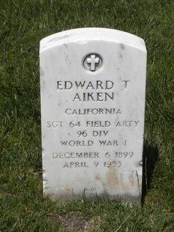 Edward T Aiken