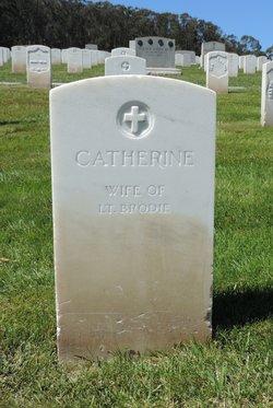 "Catherine ""Kate"" <I>Reynolds</I> Brodie"