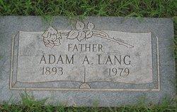 Adam A. Lang