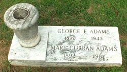 Mary C. <I>Curran</I> Adams