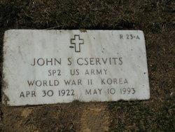 John S Cservits