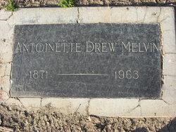 Antoinette Drew Melvin