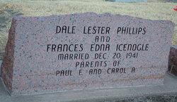 Frances Edna <I>Icenogle</I> Phillips