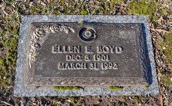 Ellen E Boyd