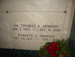 Dr Thomas A Arminio