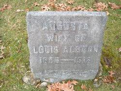 Augusta <I>Rustemeyer</I> Alburn