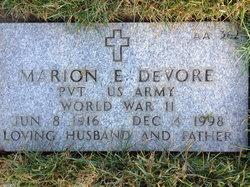Marion Eugene Devore