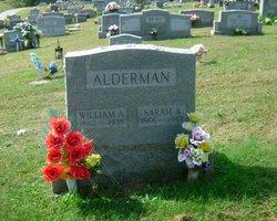 Sarah Alice <I>Lane</I> Alderman