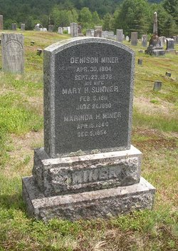Mary H. <I>Sumner</I> Miner