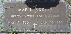 Mae <I>Lambert</I> Adkins