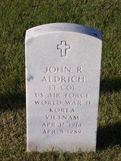 John R Aldrich