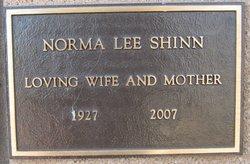 Norma Lee <I>Robinson</I> Shinn
