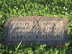 Mary E. <I>Green</I> Ballard