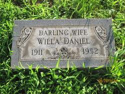 Willa <I>Sargeant</I> Daniel